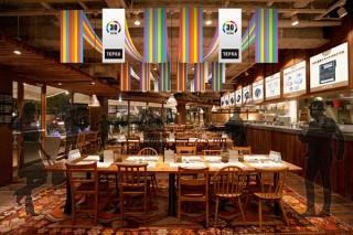 キングジムが「テプラ」のコラボカフェを期間限定でオープン! あの「伝説のテプラ」展示も