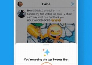 Twitterがついに昔のタイムラインに!時系列順になるボタンをテスト中