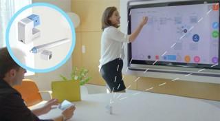 TVやプロジェクター画面に対して、ホワイトボードみたいに書き込めるガジェット「GoTouch」販売開始