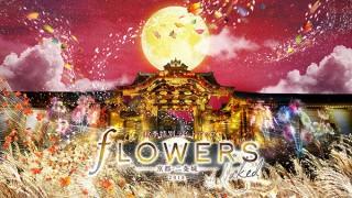 """世界文化遺産の京都元離宮二条城で""""花と伝統""""をテーマにした秋季特別ライトアップがスタート"""