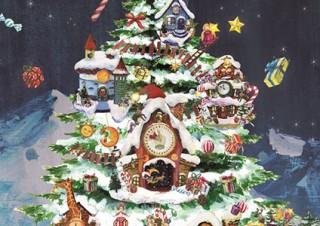 森本千絵氏が総合プロデュースを手掛けたクリスマスイルミネーション「Merry Tick Tock」