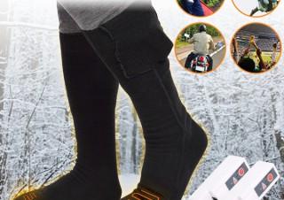 サンコー、充電式の靴下「足もとポカポカソックス」を発売