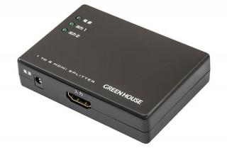 グリーンハウス、4K2K(30fps)に対応したHDMIスプリッターを発売
