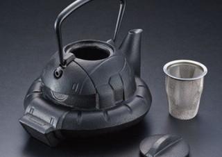 南部鉄器でザクを作るとこうなる!職人技の鉄の芸術品でザクが「鉄瓶ZAKU」に