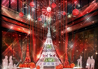北欧のクリスマスをテーマに装飾やイベントを展開する「Marunouchi Bright Christmas 2018」