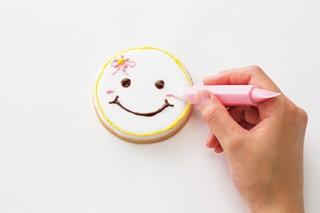 クッキーにチョコペンで絵を描く「あーとなクッキー。」のデザインコンテストが開催中