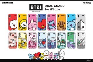 ロア、BT21のキャラクターが描かれたiPhoneケースを発売