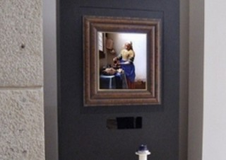 名画の中に入れる絵画鑑賞システムに「ViewPaintフェルメール《牛乳を注ぐ女》」登場