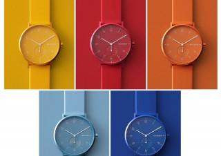 北欧デンマークより、大胆でポップなカラーを纏った腕時計「AAREN KULØR COLLECTION」が登場