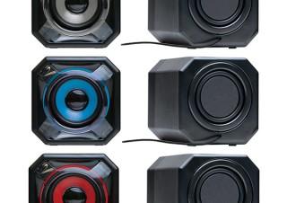 プリンストン、バックパッシブラジエーターを搭載したUSB給電のPC用スピーカーを発売