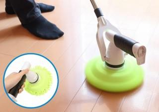 ぐるぐる回転するモップをご家庭にも!充電式「セパレート回転モップ」発売