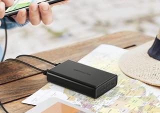 RAVPower、2台の端末を同時に急速充電できるモバイルバッテリーを発売