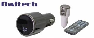 オウルテック、ハンズフリー通話が可能なBluetooth対応FMトランスミッターを発売