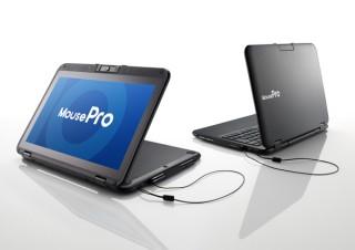 マウス、落下衝撃性や防塵に優れた2in1タブレット「MousePro P116」をリニューアル