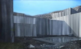 社会問題や環境問題をシニカルに描き出す猪瀬直哉氏の初個展「Blue」