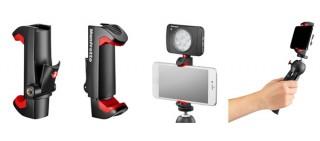 マンフロット、スマホでの写真・動画撮影を快適にする「PIXI クランプ」を発売