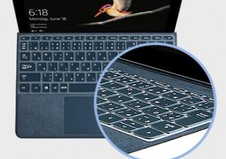 ひっくり返しても落ちない! Surface Go専用超密着「キースキン」発売