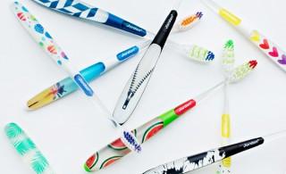 北欧ノルウェーより、ポップでおしゃれな歯ブラシ8種が日本初上陸