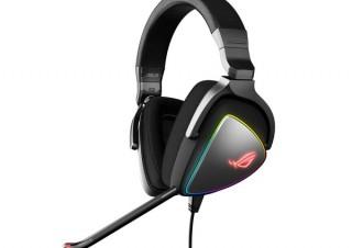 USB Type-C/Type-Aコネクタ搭載の、虹色に輝くゲーミングヘッドセット「ROG Delta」発売。ASUSより