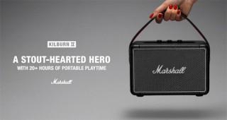 Marshall、コンパクトなBluetoothスピーカー「Kilburn II」を発売