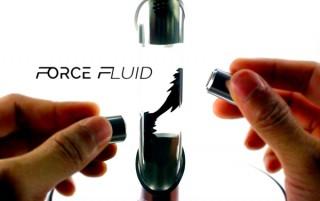 NASAの技術を使った中毒性アリの科学トイ「FORCE FLUID」。12月13日にクラファン登場と発表
