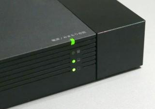 容量不足での録画ミスを未然に防止! 残り容量を本体のLEDで把握できる外付ハードディスク