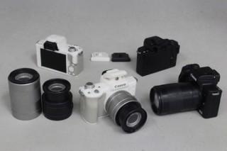 キヤノンの監修協力でミラーレスカメラ「EOS Kiss M」のミニチュアがガチャ商品として登場