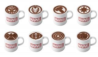 アベンジャーズのラテアートなどが提供される期間限定の「MARVEL CAFE -HERO'S ORIGIN-」