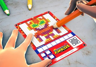 描いたドット絵が自動立体化されてゲーム内でバトルする「クラフトカードゲーム ドットヒーローズ」