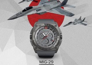 ANDOROS、ロシア空軍SWIFTがテスト飛行を行う腕時計MIG-29を発売