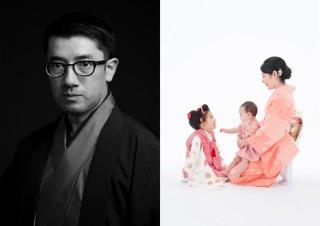 平間写真館TOKYOで撮影されたポートレイトを中心に展示する写真展「平間至写真館大博覧会」