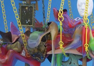 3Dデータを仮想空間で立体彫刻のように組み立てる平田尚也氏の個展「不完全な監獄」