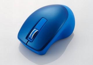 """エレコム、""""指先で持つ""""という新しいフィット感の「BlueLEDマウス」発売"""