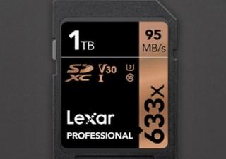 Lexar、商品化としては世界初となる1TB容量のSDカードを発売開始