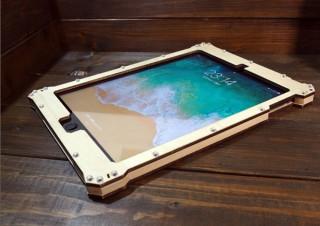 G-FLEX、ベゼルまで木製のiPad用フルカバーケースを発売