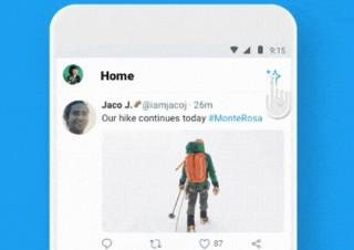 iOS版では実施済みだったTwitterの時系列表示、Android版にも実装