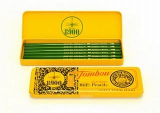 トンボ鉛筆、鉛筆8900番が黄色いダース箱になって70周年を記念したセットを販売