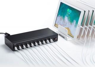 サンワサプライ、最大で10台ものUSB機器を同時に充電できる「ACA-IP61」を発売