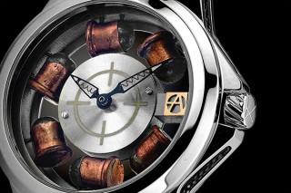 グローバルブランディング、スイス腕時計アーティアが6発の銃弾入り新モデル発売