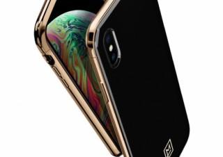LA MANON、3ピース構造を採用したブラック×ゴールドのiPhoneケースを発売
