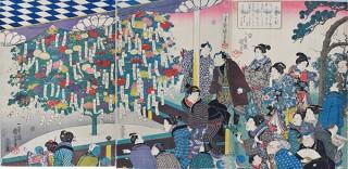 浮世絵を通じて江戸時代の庶民の草花への愛を紹介する「江戸の園芸熱」展