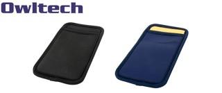 オウルテック、カードポケット付きスマートフォンマルチスリーブケース発売