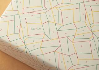 伊勢丹の包装紙のデザインが1997年以来の22年振りにリニューアル