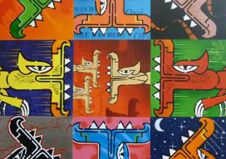 フランスを拠点に活動するアーティストOré氏の日本初個展「Rocking The City」