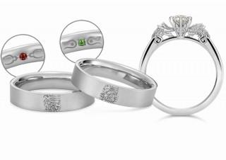 モンスターハンターのリオレウス・リオレイアをデザインした「婚約指輪・結婚指輪」が新発売