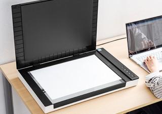 サンワサプライ、A3サイズ・7種類のデータ形式対応のフラットベッドスキャナー発売