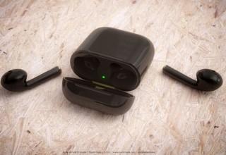 Appleの完全ワイヤレスイヤホンAirPodsの新型、新色ブラックや持ちやすさ向上の情報