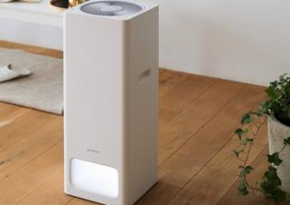 バルミューダ、大風量で天井まで行き届き、新フィルターも搭載の新型「空気清浄機」発売