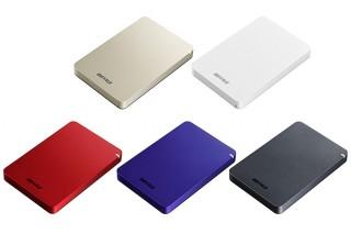 バッファロー、最大4TBのラインナップの耐衝撃ポータブルHDD「HD-PGF-Aシリーズ」を発売