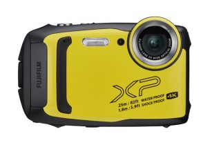 富士フイルム、25m防水で1.8m耐衝撃構造のデジタルカメラ「FinePix XP140」を発売